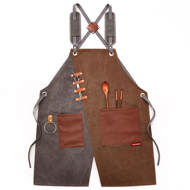 Cross Back <br /> Barista Apron
