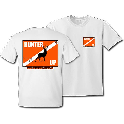 Hunter Up Deer T-Shirt (White)