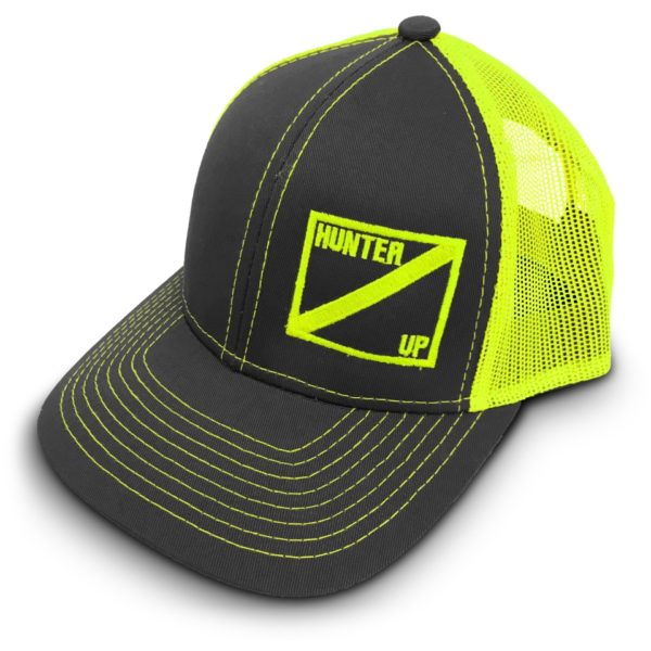 Hunter Up Neon Green Hat