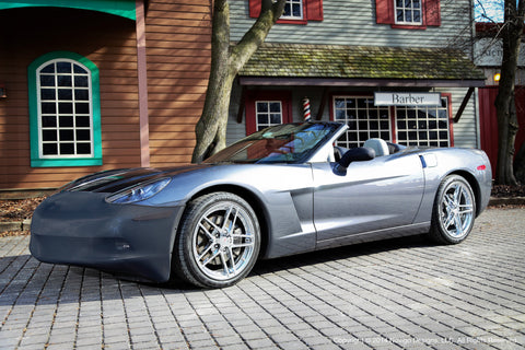 NoviStretch™ C6 Corvette Base Model Coupe and Convertible Front Bumper Mask