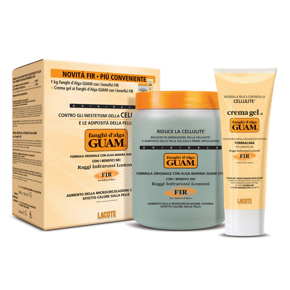 CONF. CONVENIENZA FANGHI D'ALGA GUAM 1 Kg.+ 1 GEL 250 ml. - FIR