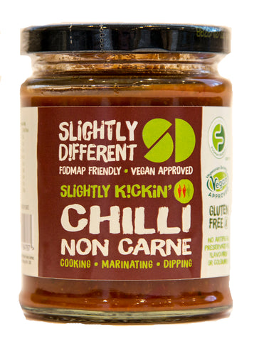 Slightly Different Foods - Chilli Non Carne Sauce