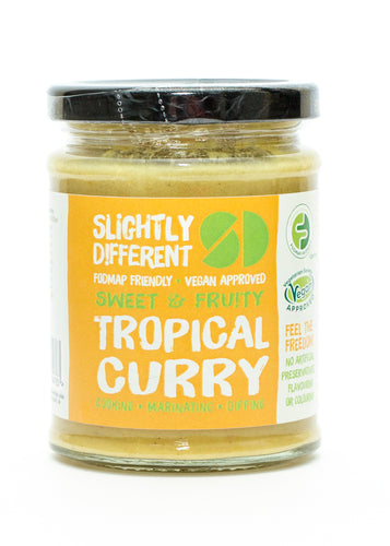 Slightly Different Foods - Tropical Curry Sauce