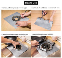 Load image into Gallery viewer, Reusable Stove Burner Cover