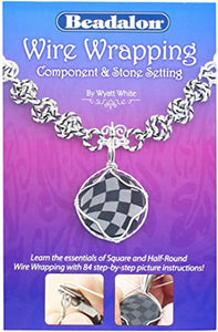 Beadalon Wire Wrapping Component and Stone Setting Booklet
