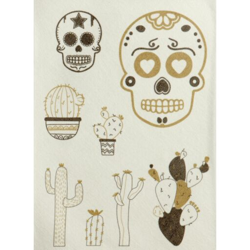 Embroidery Transfers Skull