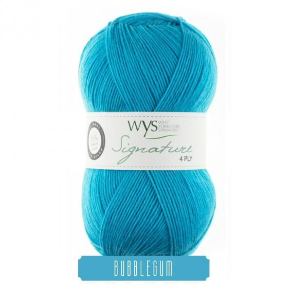 Yarn West Yorkshire Spinners Signature 4 Ply Bubblegum