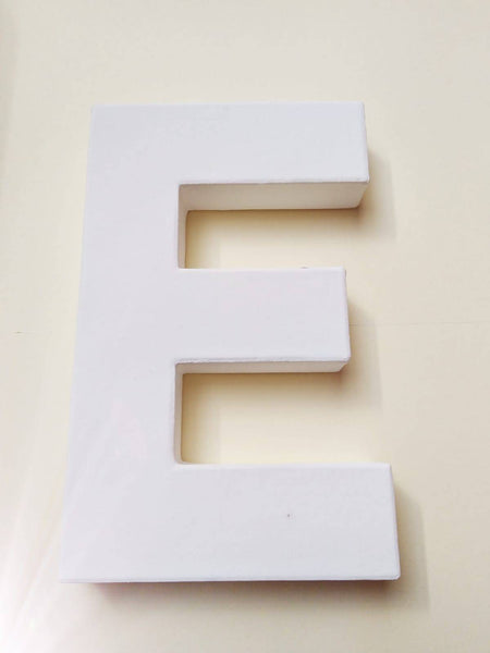 White Craft Letters - Large