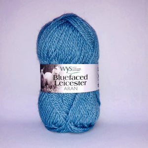 Yarn West Yorkshire Spinners Blue Faced Leicester Aran Bluebelle