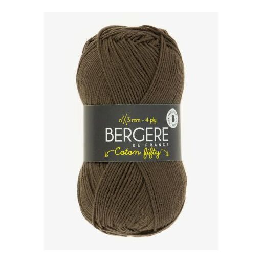 Yarn Bergere Coton Fifty Squale