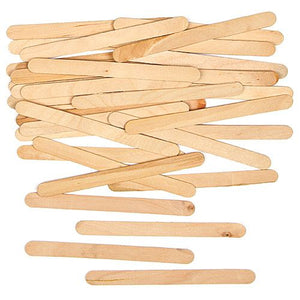 Craft Lolly Sticks Natural