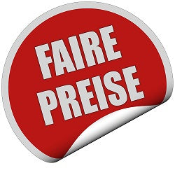Fair price Faire Preise