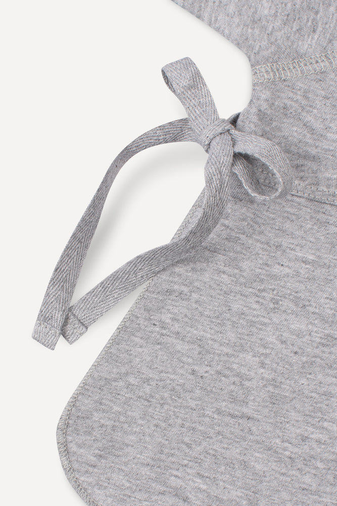 Wrap Shirt Grey Melange