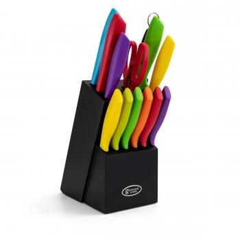 Gibson Home Color Vibes Cutlery Knife Set