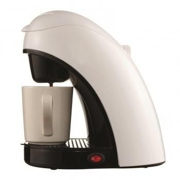 White Single Cup Coffee Maker