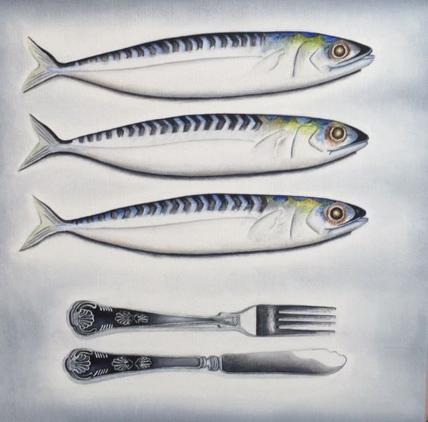 Mackerel Place Setting