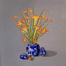 Load image into Gallery viewer, Montbretia in Ginger Jars