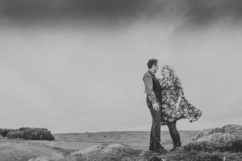 An atmospheric photo shoot in Northumberland