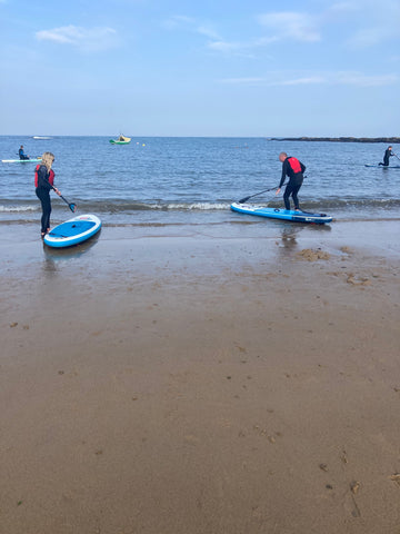 Paddle Boarding with CBK Adventure