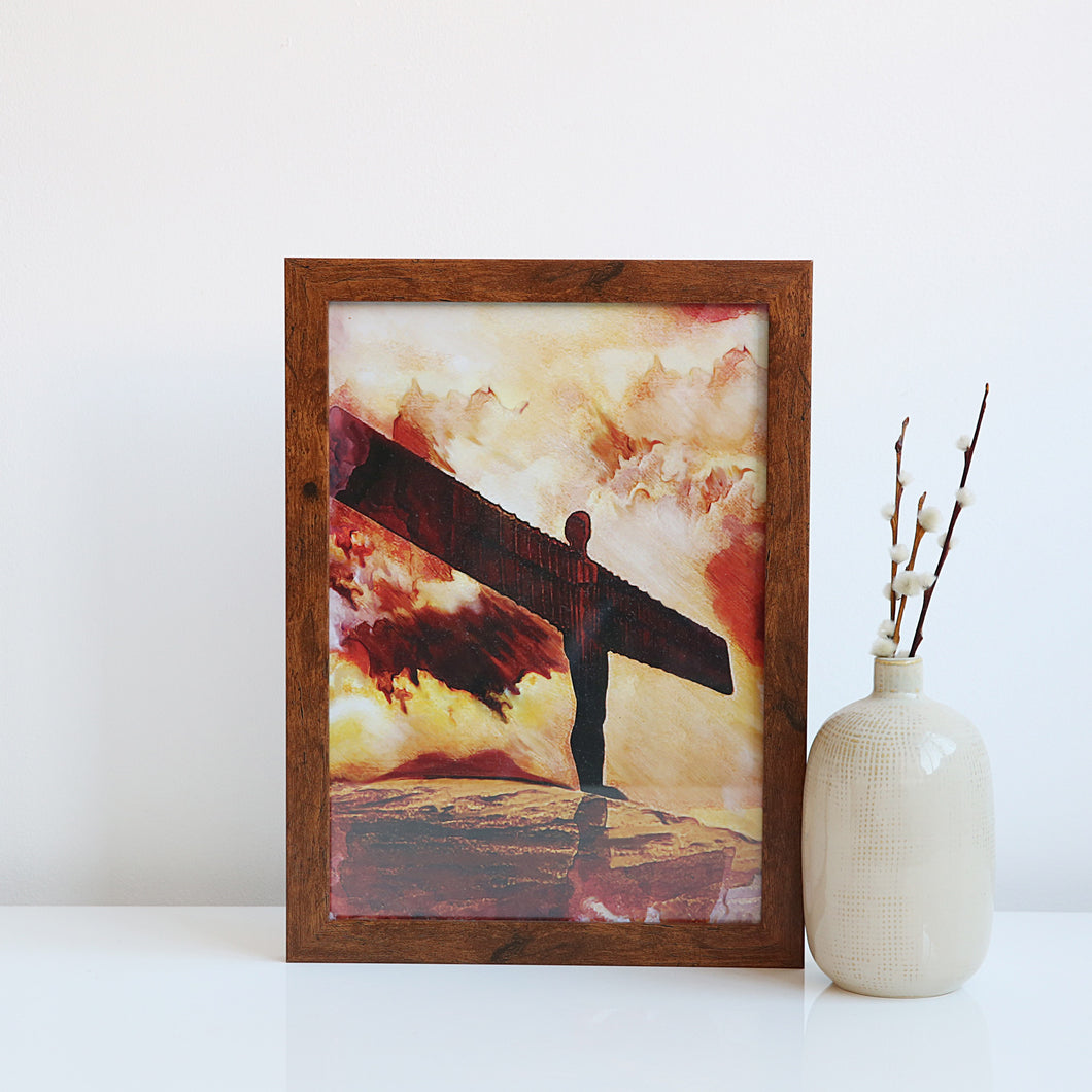 Angel of the North A4 unframed print