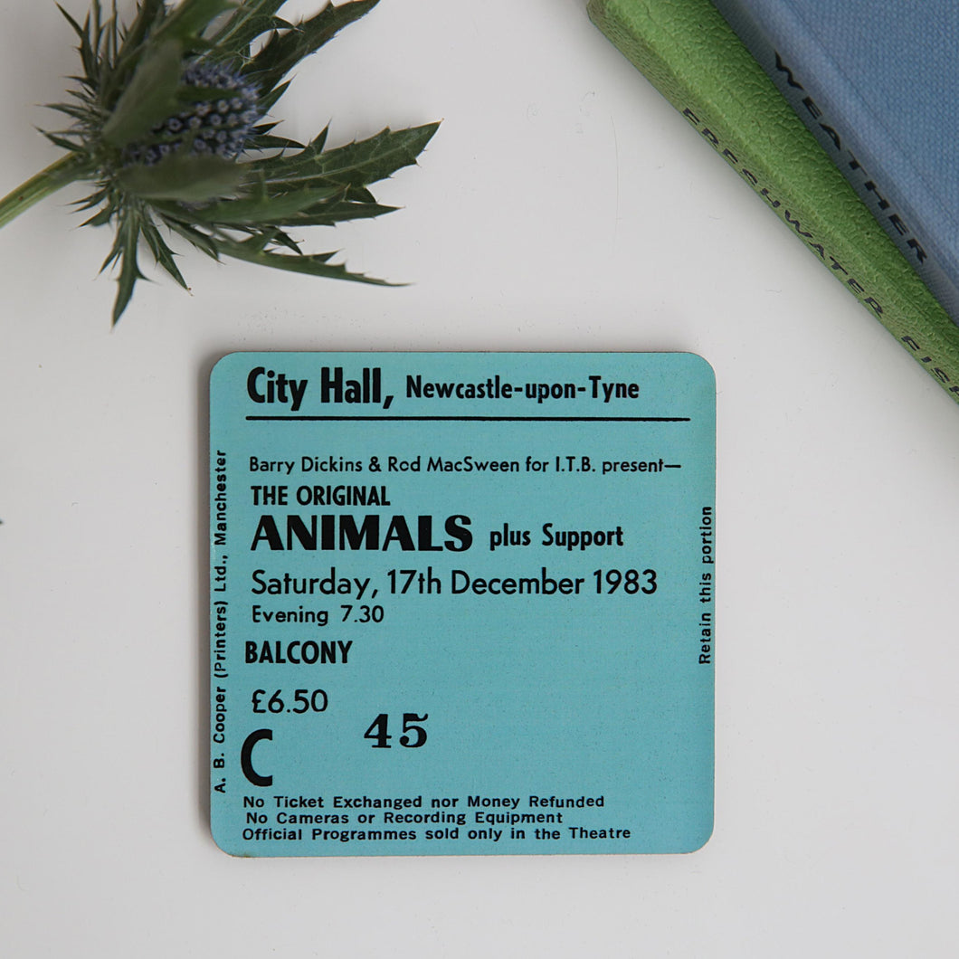 Animals City Hall Coaster