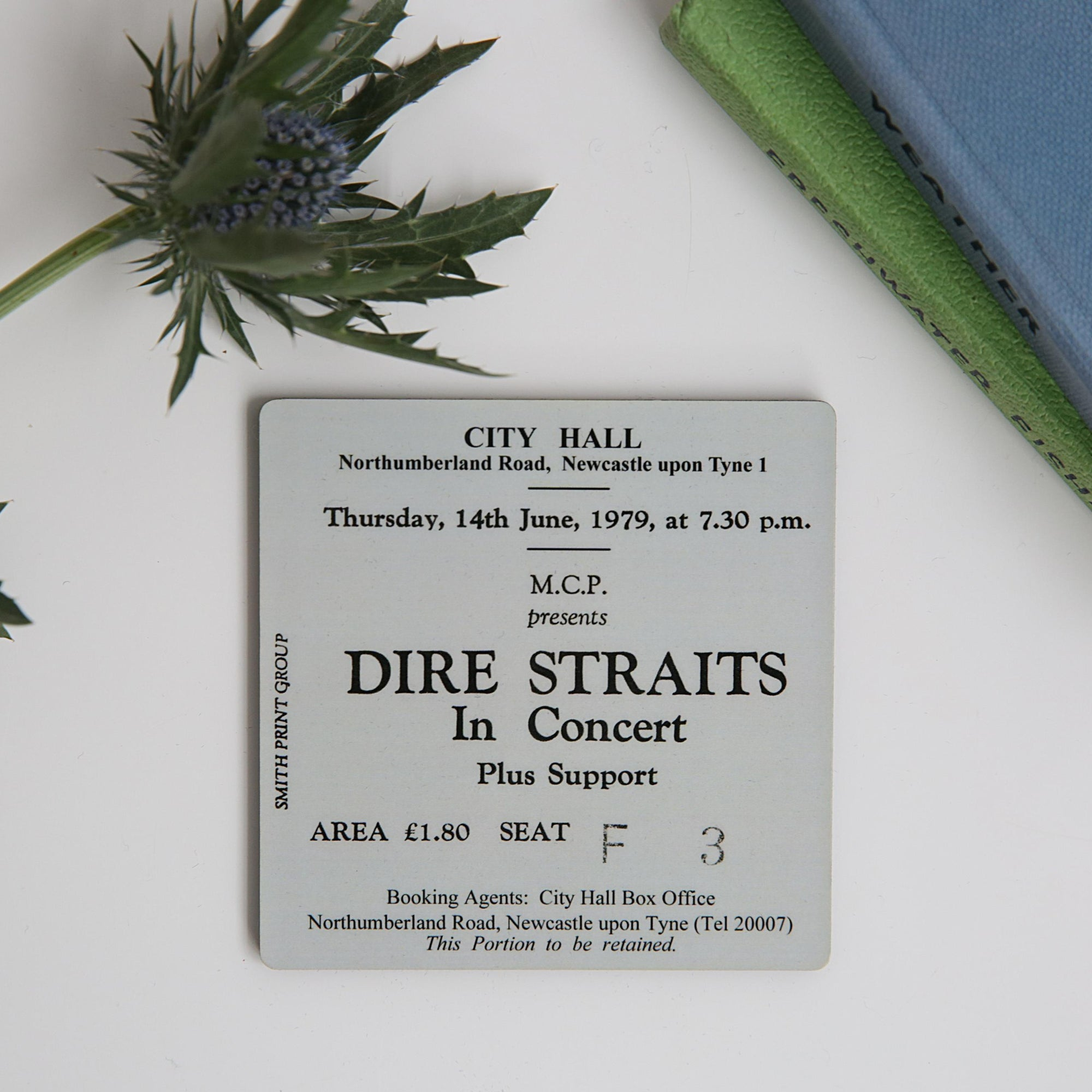 Dire Straits City Hall Coaster