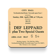 Load image into Gallery viewer, Def Leppard City Hall Coaster