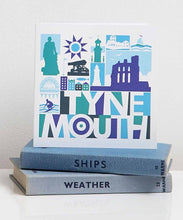 Load image into Gallery viewer, Tynemouth lettering art card