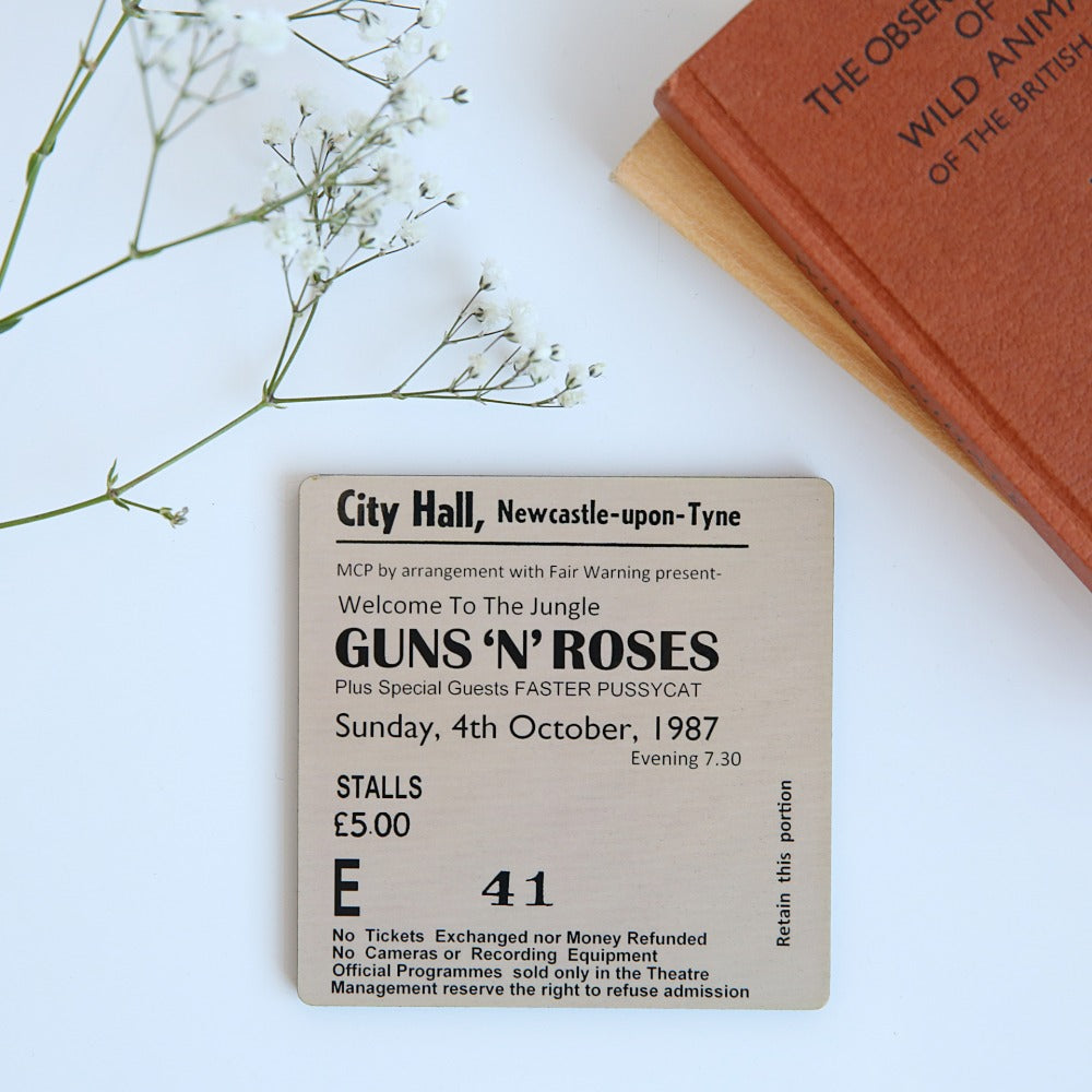 Guns N Roses City Hall Coaster