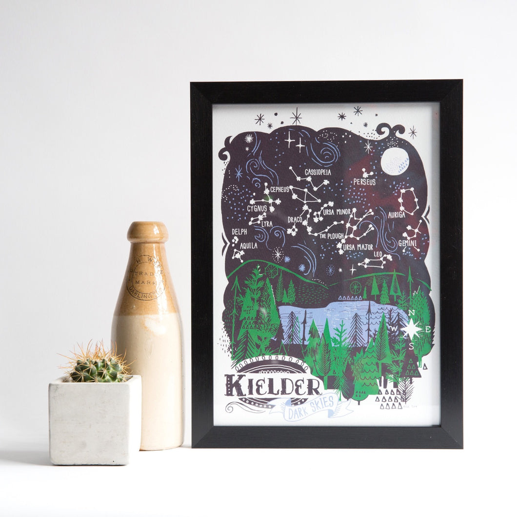 Kielder Dark Skies A4 & A3 unframed print