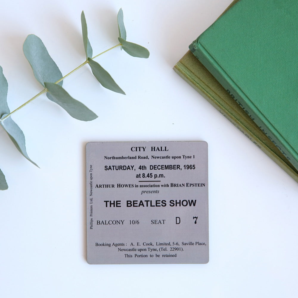 The Beatles Show City Hall Coaster