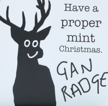 Load image into Gallery viewer, 'Have a proper mint Christmas' card