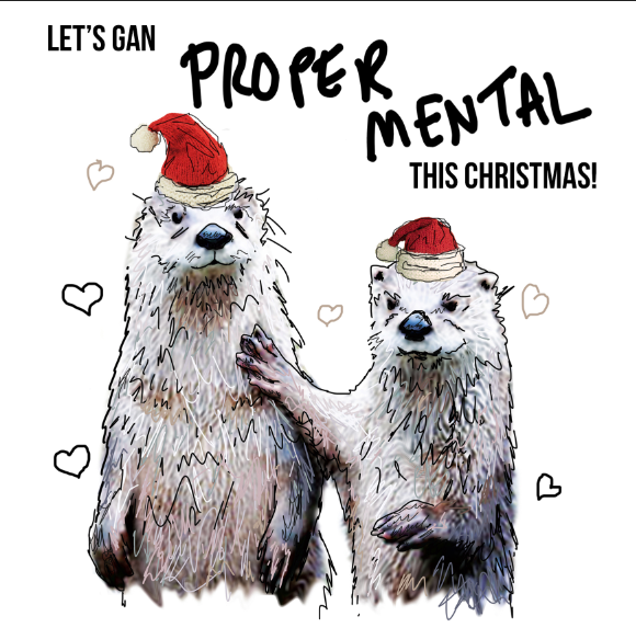 Let's Gan Proper Mental this Christmas