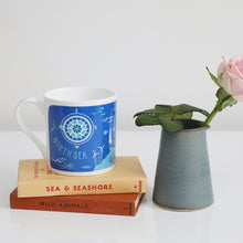 Load image into Gallery viewer, Mouth of the Tyne, South Shields to Whitley Bay via Tynemouth bone china mug