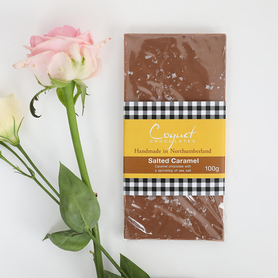 Salted Caramel Milk Chocolate 100g bar
