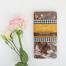 Load image into Gallery viewer, Sweetie Swirl Milk Chocolate 100g Bar