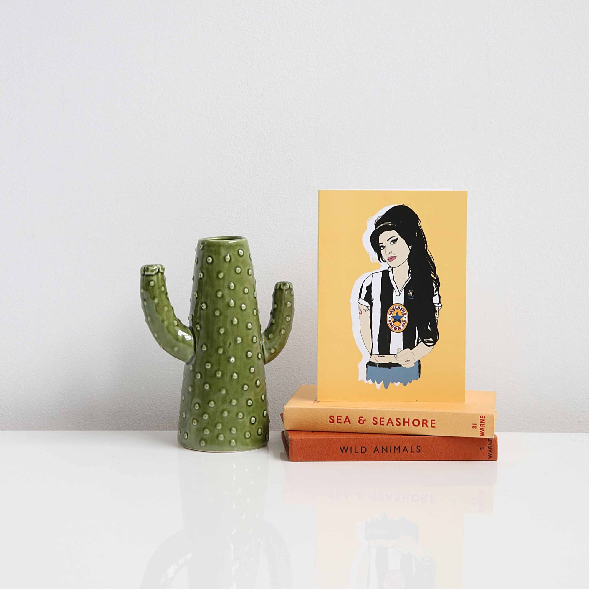 Geordie Amy Winehouse card