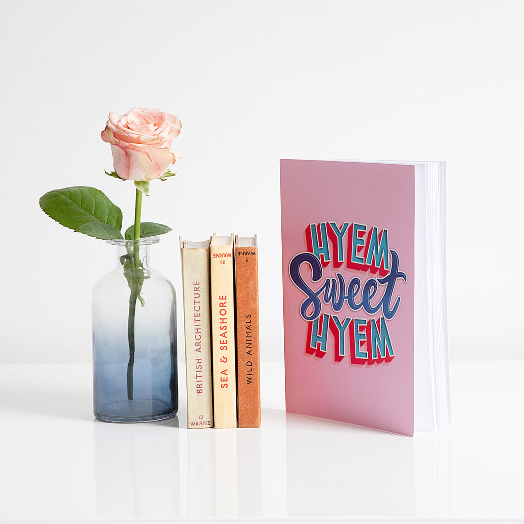 Hyem Sweet Hyem Pink Notebook