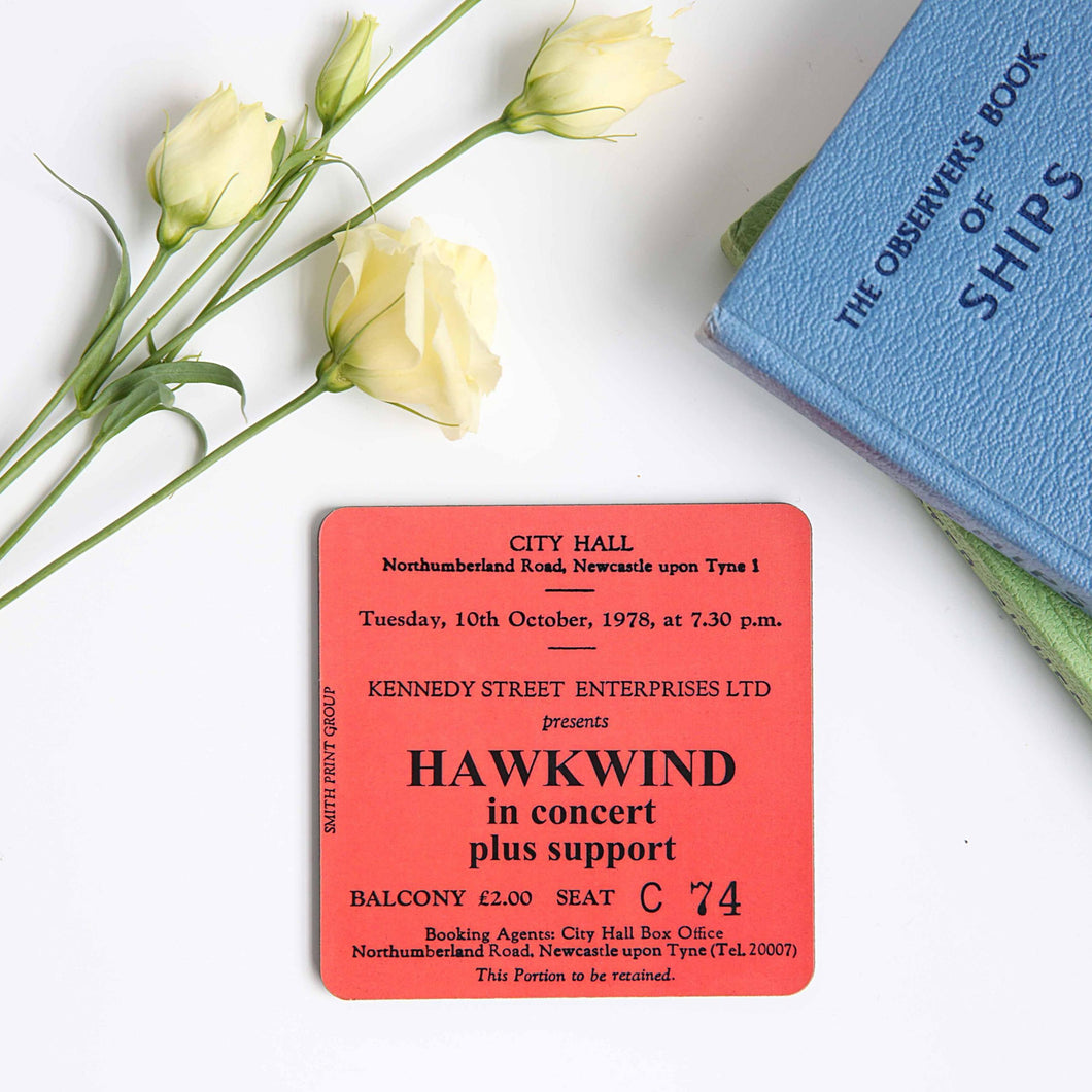 Hawkwind City Hall Coaster