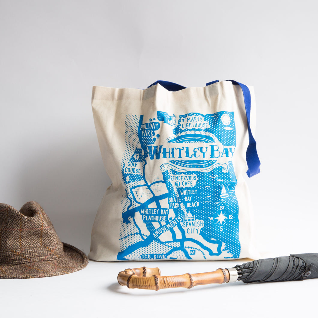 Whitley Bay Tote Bag