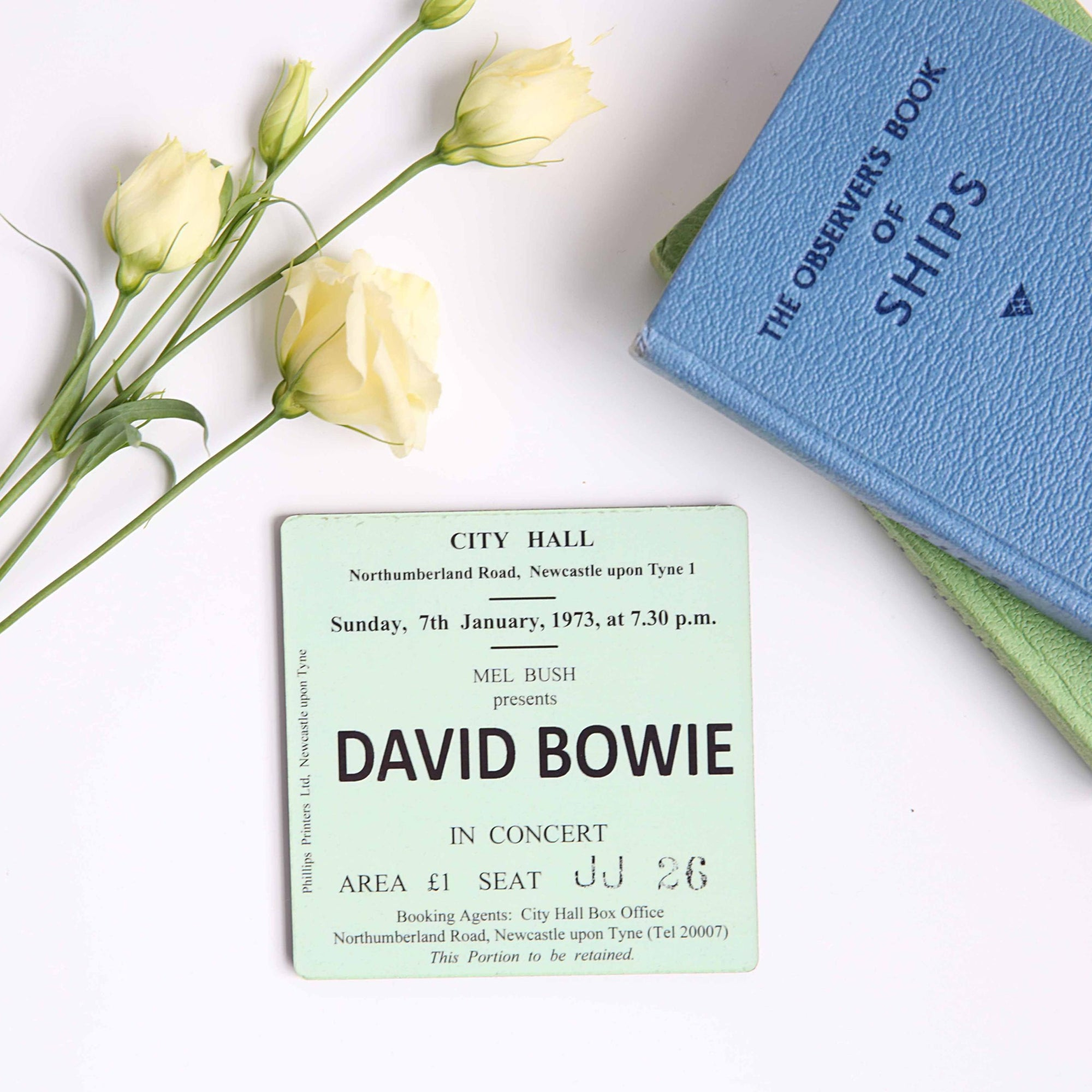 Bowie City Hall Coaster