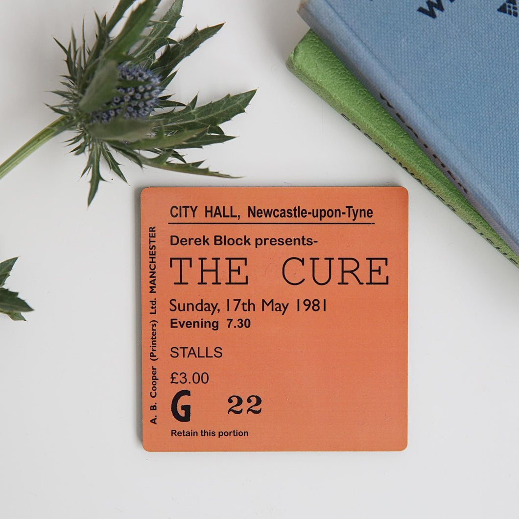 The Cure City Hall Coaster