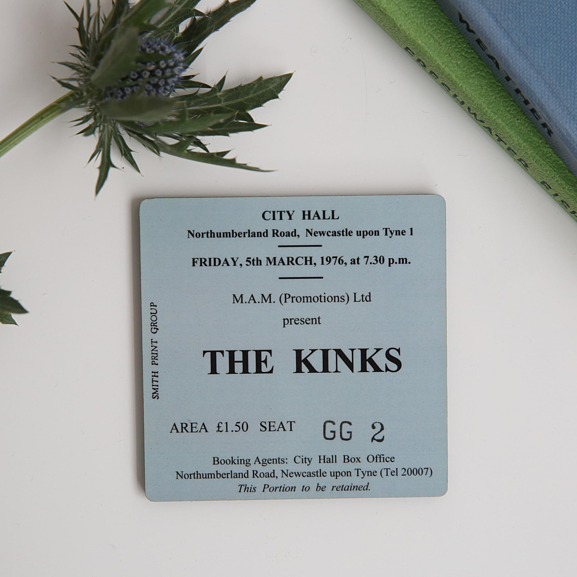 The Kinks City Hall Coaster