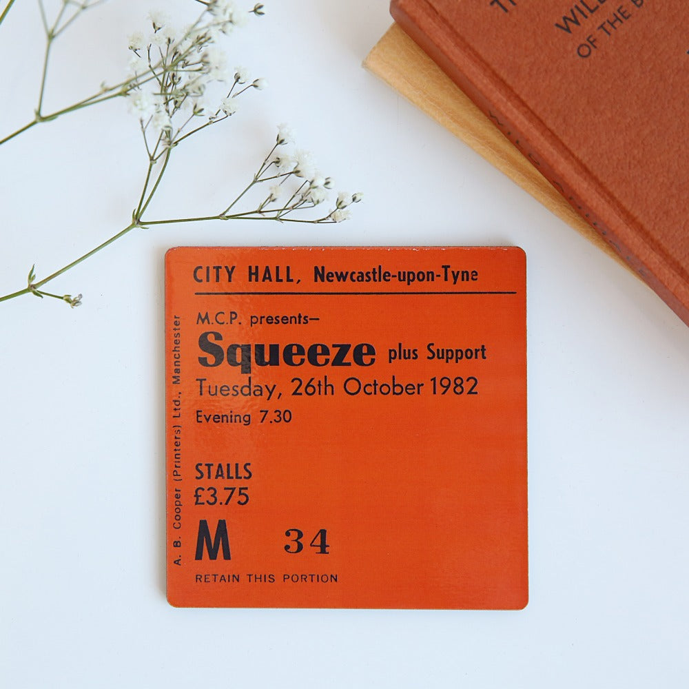 Squeeze City Hall Coaster