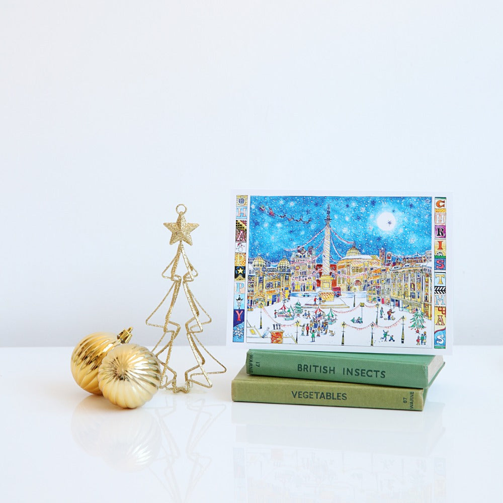 Christmas on Grey Street card