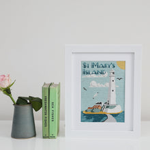 Load image into Gallery viewer, St Mary's Lighthouse Cross Stitch Kit