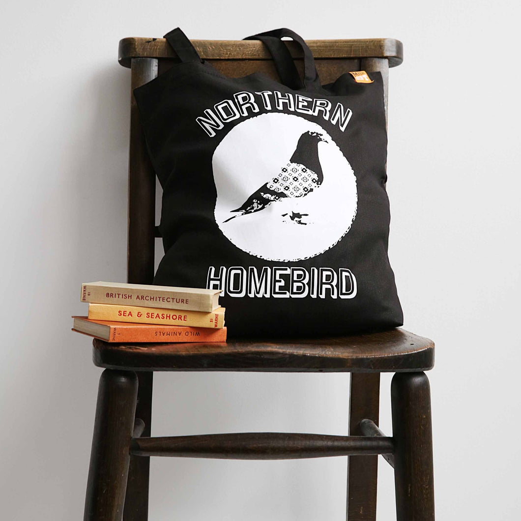 Northern Homebird Tote Bag