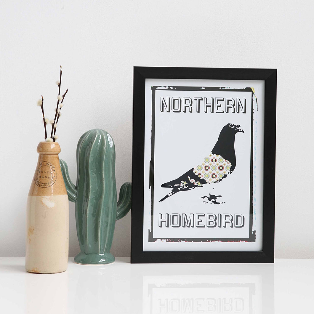 Northern Homebird A4 unframed print