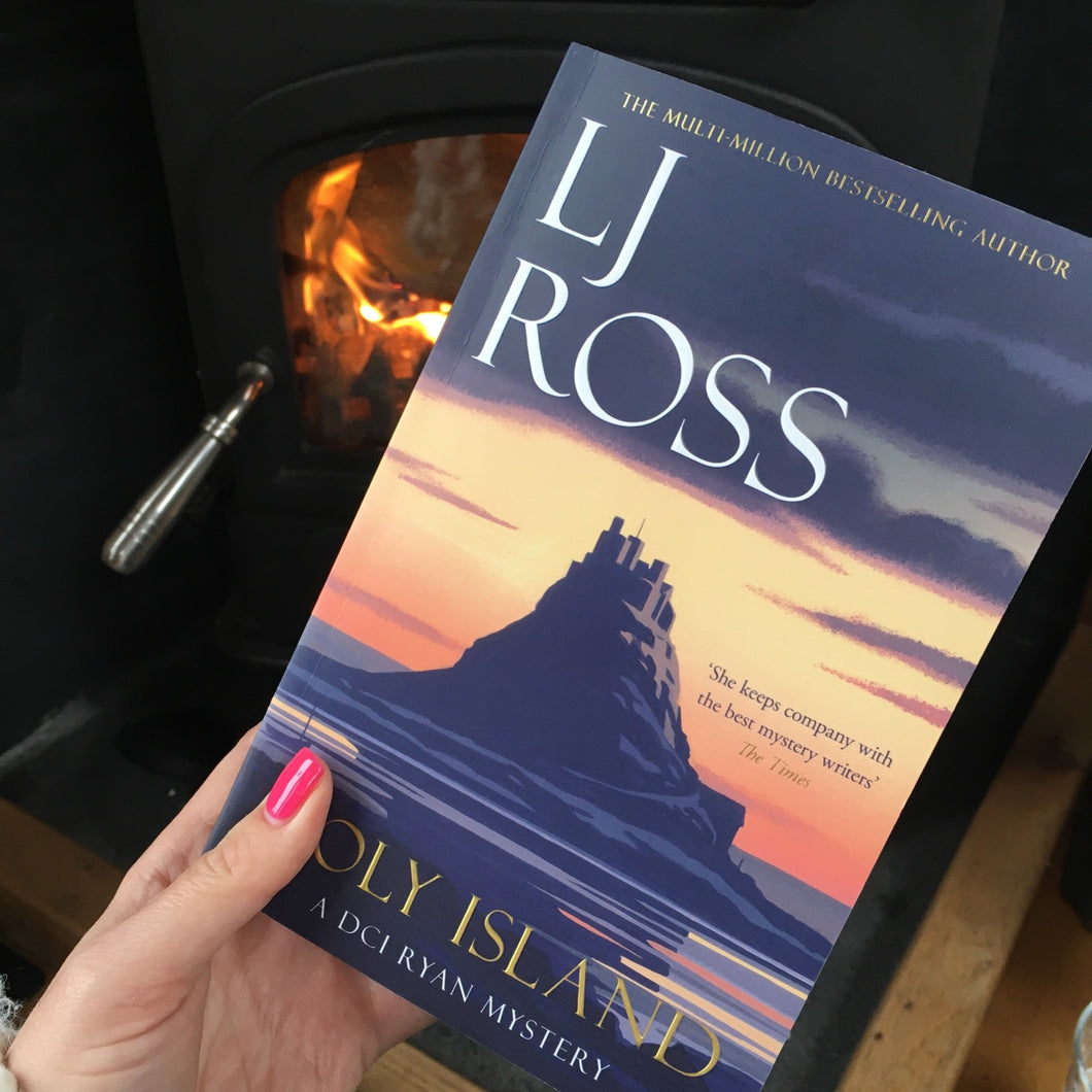 Holy Island - Number 1 DCI Ryan by LJ Ross