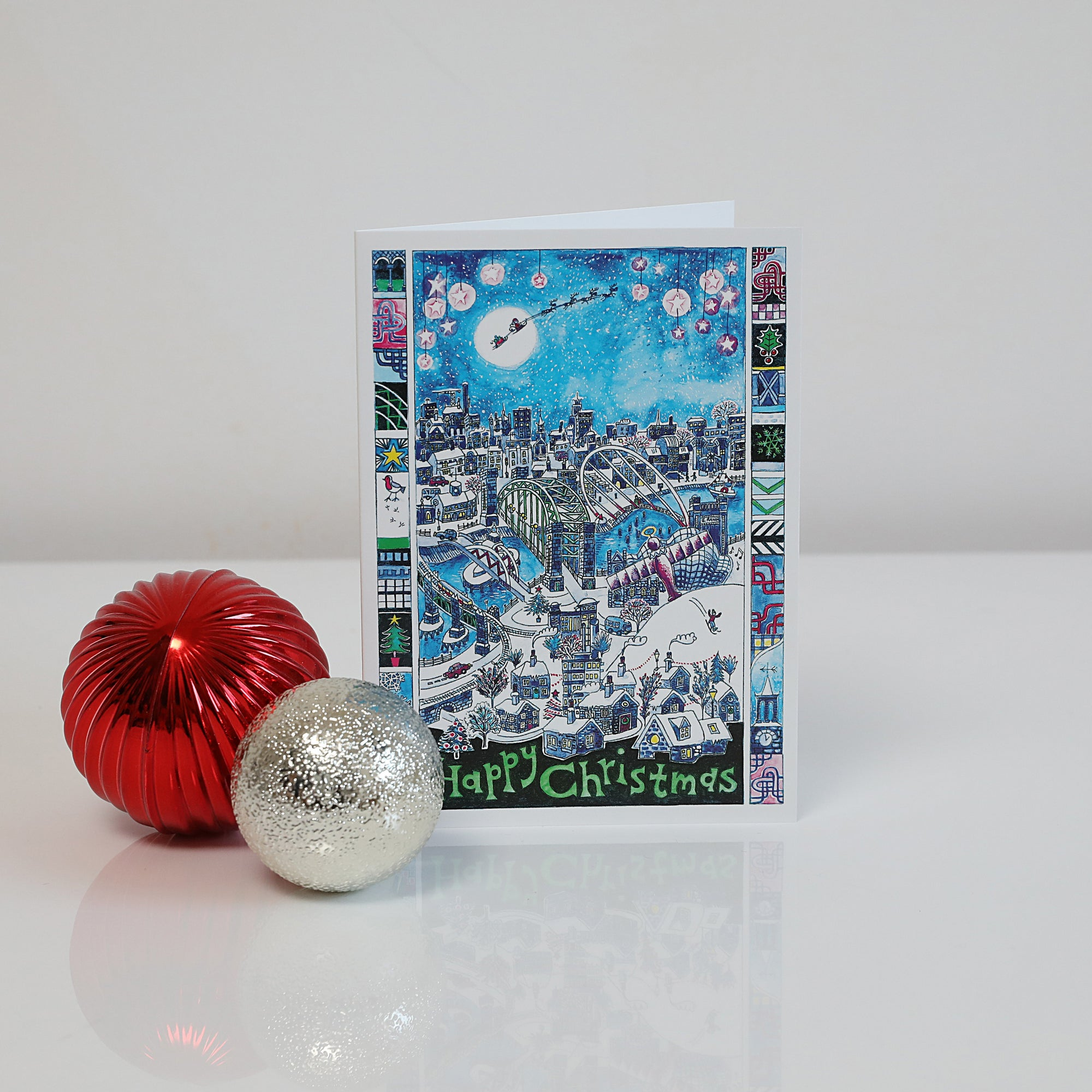 Christmas on the Quayside card